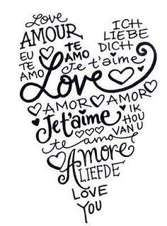 lindas mensagens de amor - Pesquisa Google
