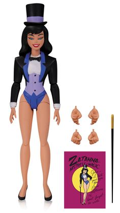 Batman The Animated Series figurine Zatanna DC Collectibles