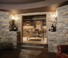 Stonefaced wine room, pic 1