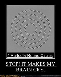 Optical Illusion are always fun to watch. Many of the optical Illusions will twist our mind. Here are few of such optical Illusions to twist your mind. Reto Mental, You Just Realized, Demotivational Posters, Mind Tricks, Eye Tricks, Illusion Art, Illusion Drawings, 3d Drawings, Mind Games