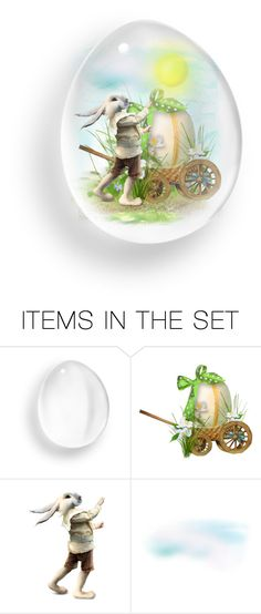 """""""Easter Egg"""" by riri-thatsme ❤ liked on Polyvore featuring art"""