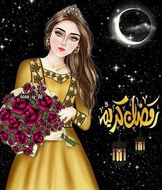 Beautiful Girl Drawing, Cute Girl Drawing, Beautiful Girl Image, Girl Cartoon Characters, Cute Cartoon Girl, Girly M Instagram, Decoraciones Ramadan, Mother Art, Pop Art Girl