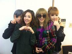 #2NE1 #Minzy #Dara #CL #Bom