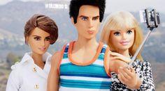 Instagram: Zoolander se toma selfies con Barbie