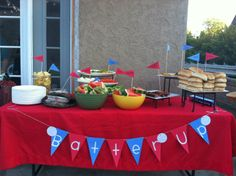To show you love...: Sandlot Theme Birthday//L7 weenies and great bambino burgers