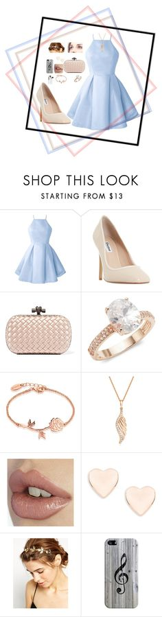 """school dance"" by caoimhebmccreesh ❤ liked on Polyvore featuring Dune, Bottega Veneta, Saks Fifth Avenue, Disney, BERRICLE, Ted Baker, ASOS, Casetify and B&O Play"