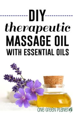 How to Make a Therapeutic Blend of Essential Oils for a Relaxing Massage http://onegr.pl/1yQdzlX #diy #vegan