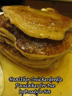 "Originally published at BethCato.com . You can comment here or there . One day my husband sighed most pitifully. ""You know what I miss?"" he said. ""Pancakes. You never make pancakes anymore."" ""That's because I can't eat piles of bready things oozing in…"