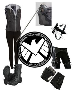 If I were a shield agent by reegan-diana on Polyvore featuring Black Rivet, Topshop, Majesty Black, GAS Jeans, women's clothing, women's fashion, women, female, woman and misses