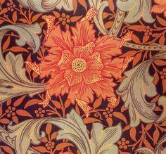 William Morris. Marigold, 1880 (The Textile Blog)