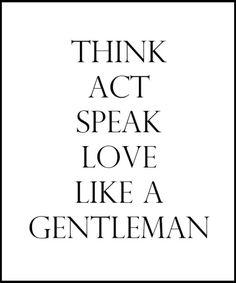 Gentleman's Creed