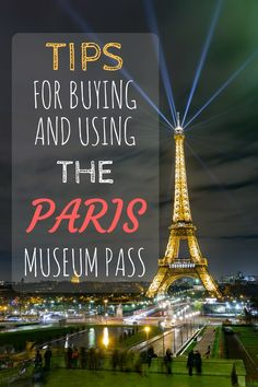 Tips for buying and using the Paris Museum Pass to help you decide if this is something you should invest in for your trip to Paris!