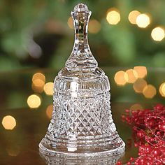 hand bells | Waterford Crystal Bell