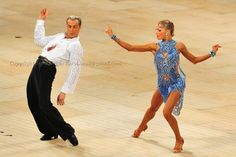 Riccardo Cocchi and Yulia Zagoruychenko. Visit http://ballroomguide.com/workshop/latin.html for info about Latin workshops from the pros.