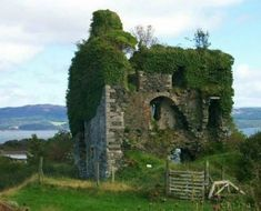 Tarbert Castle is located on the Southern Shore of East Loch Tarbert at Tarbert, Argyll,Scotland at the North end of Kintyre Photo from Celtic Lore and Mythology