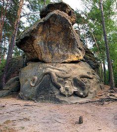 Skalní reliéf Had European Countries, Czech Republic, Garden Sculpture, Random, Places, Nature, Naturaleza, Off Grid, Natural