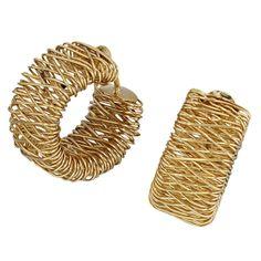 Creolen 585 Gold Gelbgold Ohrringe A32313