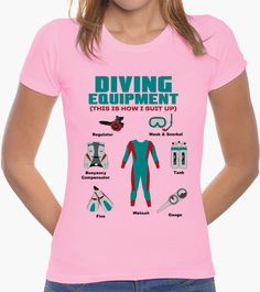 T-shirt Diving Equipment