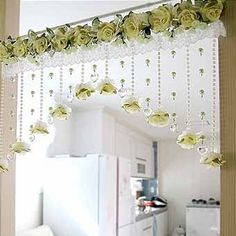 35 Windows Decor That Will Inspire You – Home Decoration – Interior Design Ideas 35 Windows-Dekor, das Sie inspirieren wird – Innendekoration – Interior Design-Ideen Crochet Curtains, Beaded Curtains, Rideaux Design, Diy Diwali Decorations, Decoration Shabby, Diy Home Decor, Room Decor, Home Curtains, Window Curtains