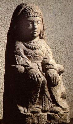 "(Pre-Roman Spain) - Seated lady from Cerro de los Santos (another site with a sacred name: ""Hill of the Holy Ones""). Iron Age, Ancient History, Art History, Best Barns, Plastic Art, Carthage, Historical Art, Mexican Folk Art, Medieval Art"