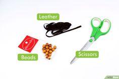 5 Ways to Make Leather Bracelets - wikiHow