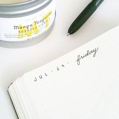 Daily headers have been uber simple this month  Months have just been flying by this year! Nearly August... #bulletjournal