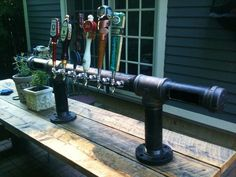brewpipe tap tower from ceiling - Google Search