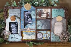 Somewhere In Time by Lynn Shokoples - Scrapbook.com