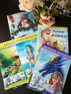 Coloring books by Alena lazareva Available at Amazon amazon.com/author/alenalazareva