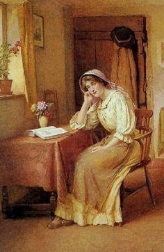 Far Away Dreams ~ Charles Edward Wilson ~ (English: 1854-1941)