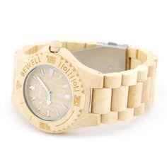 Ons houten horloge Chitwan heeft een hele natuurlijke look. Het gebruik van bamboe in alle elementen van dit horloge zorgen hiervoor. Naast de looks wordt dit horloge ook gekenmerkt door comfort, vanwege het geringe gewicht en de perfecte afwerking.  http://www.looyenwood.nl/product/houten-horloge-chitwan/