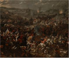 Pauwel Casteels, Battle of Vienna, digitised by Google Art Project; source: Museum of Jan II's Palace in Wilanów; source: CC BY-SA 3.0 / Wikimedia