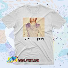 Summer Fashion Tips Taylor Swift 1989 Album T Shirt Style.Summer Fashion Tips Taylor Swift 1989 Album T Shirt Style 90s Shirts, Tour T Shirts, Taylor Swift, Fashion Tips For Girls, 90s Outfit, Retro Fashion, Style Fashion, Contemporary Fashion, Fashion Sketches