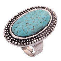 Yazilind Rimous Oval Turquoise Tibetan Silver Striking Simplicity Adjustable Ring, http://www.amazon.com/dp/B00HNGO834/ref=cm_sw_r_pi_awdm_n2.sub0WXMMJ8
