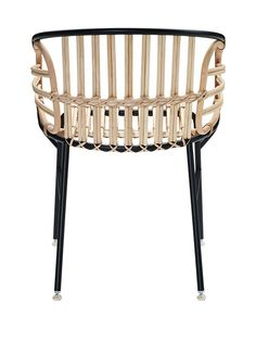 raphia chair from Casamania (Italy)