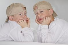 Ethan's twin sons, Jason and Carson