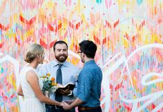 7 Street Art Inspired Graffiti Wedding Ideas | TheKnot.com