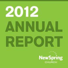 NewSpring Church   Annual Report 2012