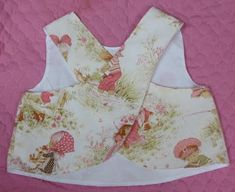 Life on the run: Crossover Back Baby Smock - Free PDF pattern