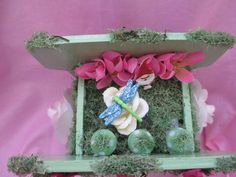 OOAK Flower Pot Fairy Garden/Gnome Garden by AmethystWaysFairies