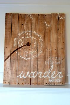 Reclaimed Wood Art Sign. #sondermill