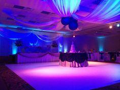 Amazing work from our team at Elegant Event Lighting at Hilton Garden Inn St. Charles.