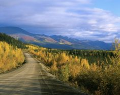 Dempster Highway in the Yukon Territory, Canada