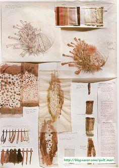 """ The Art of Wildlife artist in textiles "" Sketchbook Layout, Textiles Sketchbook, Artist Sketchbook, Sketchbook Inspiration, Creative Textiles, Textile Texture, Art Corner, Book Design Layout, Sewing Art"