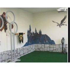 Harry Potter play room!  I wanna make my room like this xD  Man... that'd be so cool....