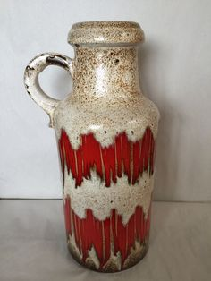West German pottery / fat lave #retro #fatlava #decorative #interior #vintage
