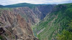 Black Canyon of the Gunnison (SUA) Gunnison National Park, National Parks, Grand Canyon, Colorado, United States, Country Roads, River, Mountains, Bing Images