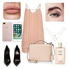 """""""Untitled #61"""" by stinebf on Polyvore featuring River Island, Yves Saint Laurent, Mark Cross and Avon"""