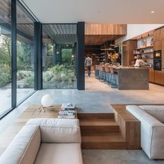 What do you think? Villa Amsterdam is a family house with . What do you think? Villa Amsterdam is a family house with . Sunken Living Room, Living Rooms, Living Area, Living Room Ideas Villa, Kitchen With Living Room, Living Spaces, Classy Living Room, Tv Rooms, Long Kitchen