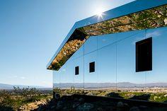 doug aitken creates a mirror-clad 'mirage' in coachella valley's desert landscape